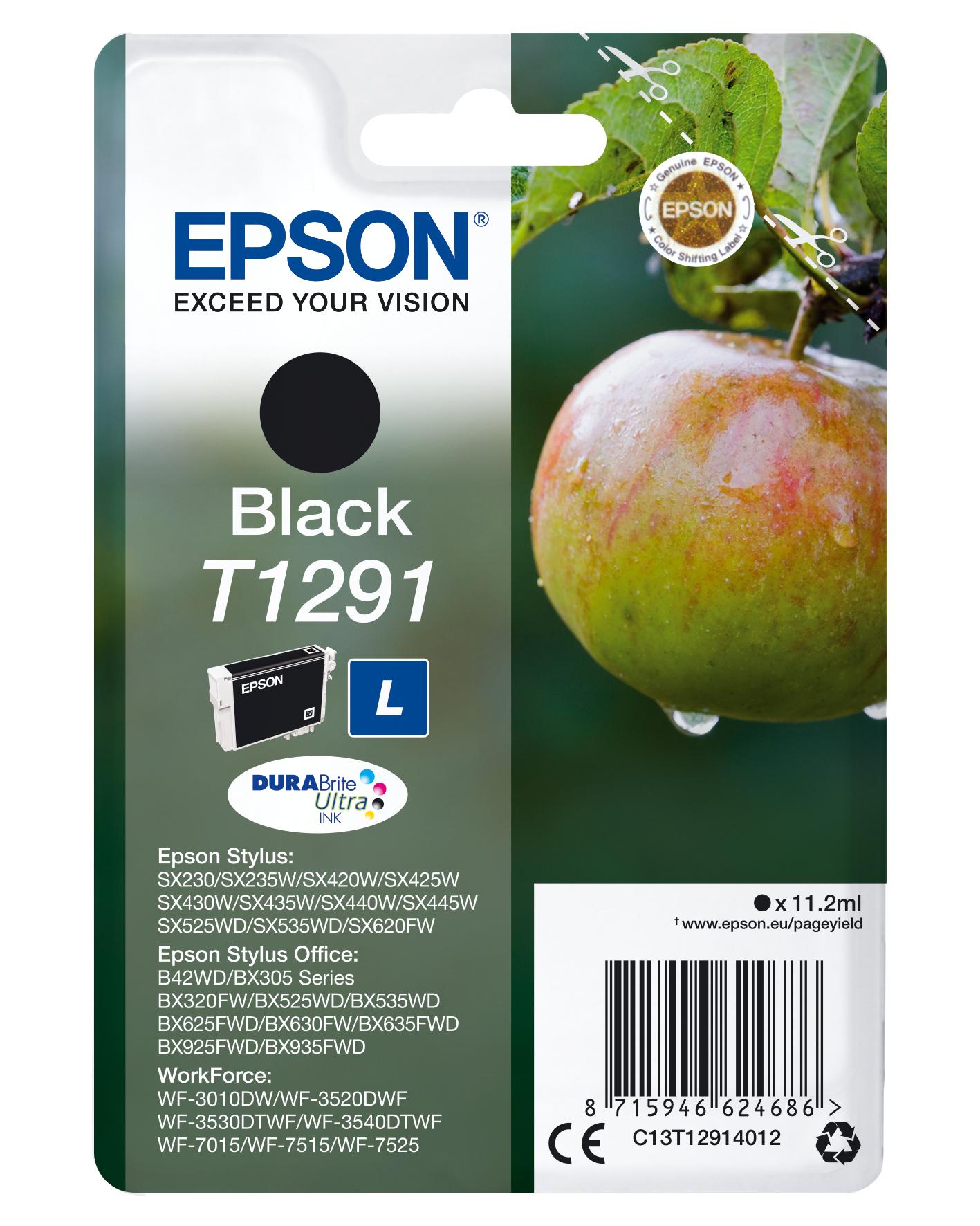 Epson Apple Cartucho T1291 negro