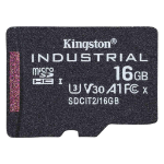 Kingston Technology Industrial memory card 16 GB MicroSDHC UHS-I Class 10