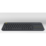 Logitech K400 Plus keyboard RF Wireless QWERTZ Czech Black