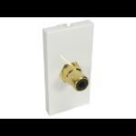 Cables Direct V-MOD1RCABK socket-outlet RCA White