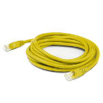AddOn Networks ADD-1MCAT5E-YW networking cable Yellow 1 m Cat6a U/UTP (UTP)