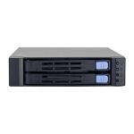 "Chenbro Micom SK51201 2.5"" Black HDD/SSD enclosure"