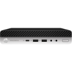 HP 600 ProDesk G5 DM, i5-9500T, 8GB, 256GB SSD, WLAN, W10P64, 3-3-3, USB-C 100w PD support for MIO 24