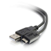 C2G 1m, USB2.0-C/USB2.0-A cable USB 2.0 USB C USB A Negro