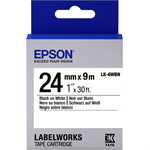 Epson C53S656006 (LK-6WBN) Ribbon, 24mm x 9m