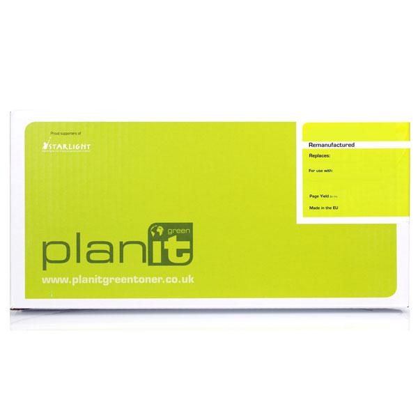 PLANITGREEN Ricoh 407543 Black Remanufactured Toner