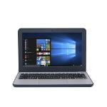 "ASUS VivoBook W202NA DDR4-SDRAM Notebook 29.5 cm (11.6"") 1366 x 768 pixels Intel® Celeron® 4 GB 64 GB SSD Wi-Fi 5 (802.11ac) Windows 10 Pro Black"