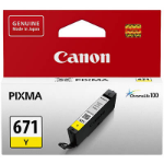 CANON CLI671 INK CARTRIDGE YELLOW
