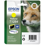Epson C13T12844022 (T1284) Ink cartridge yellow, 225 pages, 4ml