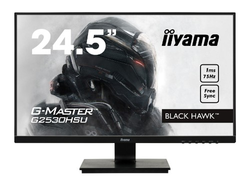 "iiyama G-MASTER G2530HSU-B1 24.5"" Full HD LED Matt Flat Black computer monitor LED display"