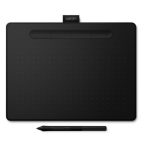 Wacom Intuos M Bluetooth 2540lpi 216 x 135mm USB/Bluetooth Black graphic tablet CTL-6100WLK-N