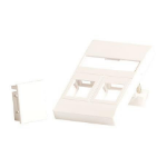 Lanview LVN126097 wall plate/switch cover White