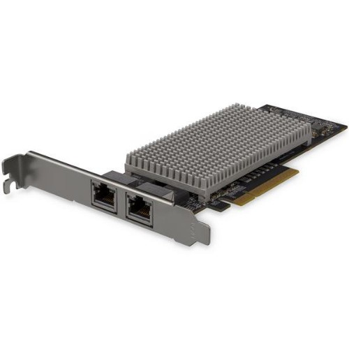 StarTech.com Dual-Port 10Gb PCIe Network Card with 10GBASE-T & NBASE-T