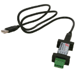 IMC Networks 485USBTB-4W serial converter/repeater/isolator USB 2.0 RS-485 Black