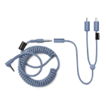Urbanears 04091363 audio cable RCA 3.5mm Blue