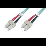 ASSMANN Electronic SC/SC, 5 m Glasvezel kabel Multi kleuren