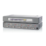 Belkin OmniView Secure DVI-D Dual-Link 4-Port KVM Switch
