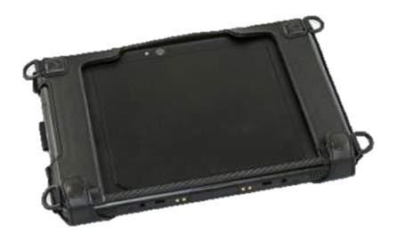 """Zebra SG-ET5X-10HLST-01 funda para tablet 25,4 cm (10"""") Negro"""