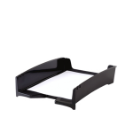 FELLOWES G2DESK LETTER TRAY - BLACK