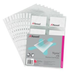 "Rexel Nyrexâ""¢ Business Card Pockets (10)"