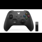 Microsoft Xbox Wireless Controller + Wireless Adapter for Windows 10 Gamepad PC, Xbox One, Xbox One S, Xbox One X, Xbox Series S, Xbox Series X Black