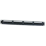Cables Direct 24 Port Cat6 Patch Panel 1U patch panel