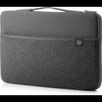 "HP Carry Sleeve 15 notebook case 39.6 cm (15.6"") Sleeve case Grey"
