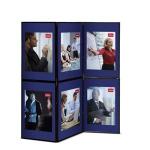 Nobo Showboard 6 Panel Blue/Grey