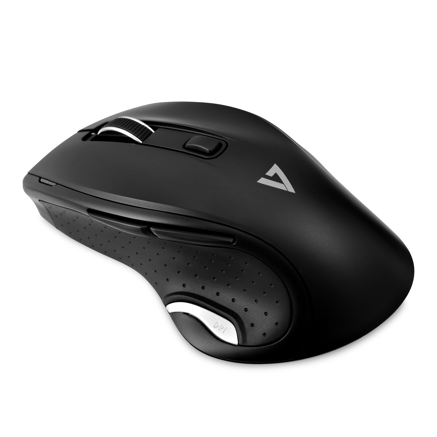 V7 Deluxe Wireless Optical Mouse - Black