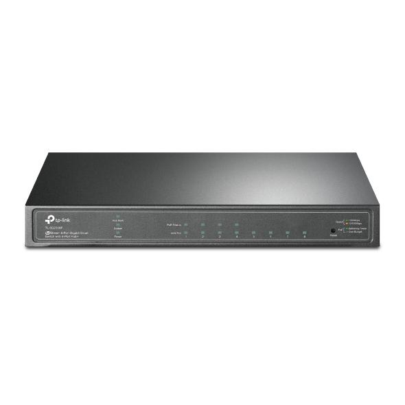 TP-LINK TL-SG2008P switch Gestionado Gigabit Ethernet (10/100/1000) Energía sobre Ethernet (PoE)