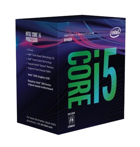 Intel Core i5-8600 processor 3.1 GHz 9 MB Smart Cache Box