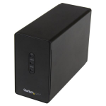 StarTech.com Dual-bay 2.5in hard drive enclosure – USB 3.0 to SATA III 6Gbps with RAID