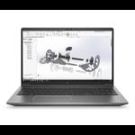 "HP ZBook G7 Mobiel werkstation 39,6 cm (15.6"") 1920 x 1080 Pixels Intel® 10de generatie Core™ i5 8 GB DDR4-SDRAM 256 GB SSD Wi-Fi 6 (802.11ax) Windows 10 Pro Zilver"