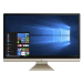 "ASUS Vivo AiO V272UNK-BA140T All-in-One PC/workstation 68.6 cm (27"") 1920 x 1080 pixels 8th gen Intel® Core™ i5 8 GB DDR4-SDRAM 1512 GB HDD+SSD NVIDIA® GeForce® MX150 Windows 10 Home Wi-Fi 5 (802.11ac) Black, Gold"