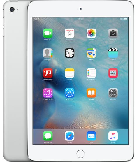 Apple iPad mini 4 128GB Silver tablet