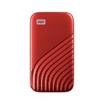 Western Digital My Passport 1000 GB Rojo