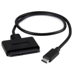 """StarTech.com USB 3.1 Gen 2 (10 Gbps) Adapter Cable for 2.5"""" SATA Drives - with USB-C USB31CSAT3CB"""