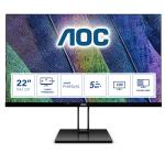 """AOC V2 22V2Q computer monitor 54.6 cm (21.5"""") 1920 x 1080 pixels Full HD LED Black"""