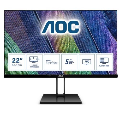 AOC V2 22V2Q computer monitor 54.6 cm (21.5