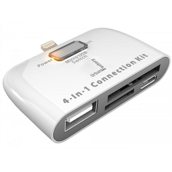 Urban Factory ICR22UF USB 2.0 White card reader
