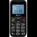 "MaxCom Comfort MM426 4,5 cm (1.77"") 72 g Negro Teléfono para personas mayores"