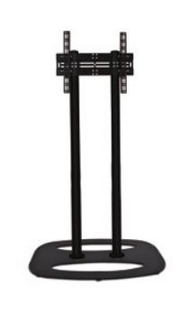 "B-Tech BT8551 127 cm (50"") Fixed flat panel floor stand Black"