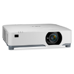 NEC NP-P605UL data projector 6000 ANSI lumens 3LCD WUXGA (1920x1200) Desktop projector White
