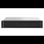 QNAP TS-h2490FU 7232P Ethernet Bastidor (2U) Negro, Gris NAS