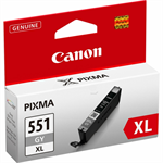Canon 6447B001 (551 GYXL) Ink cartridge gray, 3.35K pages, 11ml