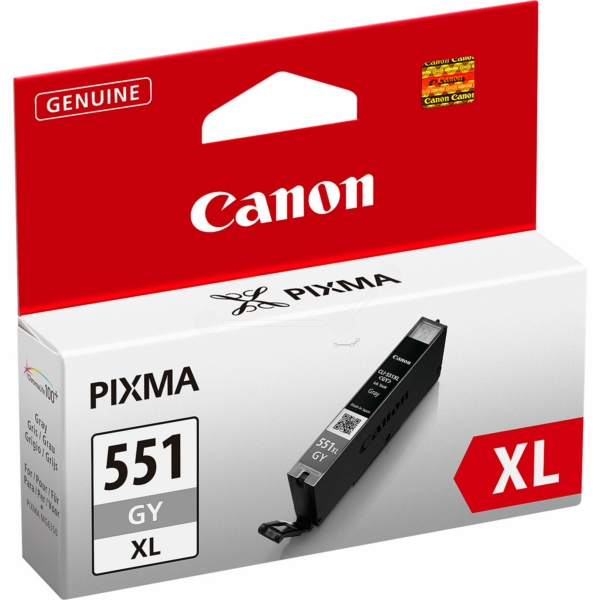 Canon 6447B001 (CLI-551 GYXL) Ink cartridge gray, 3.35K pages, 11ml