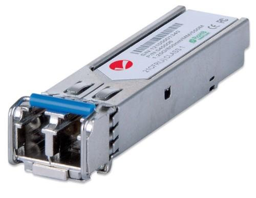 Intellinet Gigabit Ethernet SFP Mini-GBIC Transceiver, 1000Base-Sx (LC) Multi-Mode Port, 550m