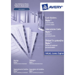 Avery Mylar Reinforced 1 - 12 White divider