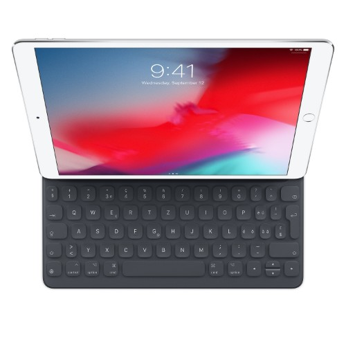 Apple Smart mobile device keyboard Black QWERTZ Swiss Smart Connector