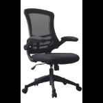 Eliza Tinsley Luna Medium Back Mesh Chair Black DD